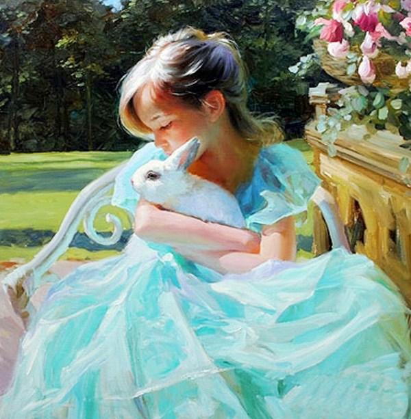 Cuadros pinturas oleos cuadros muy bonitos de ni as - Cuadros muy bonitos ...