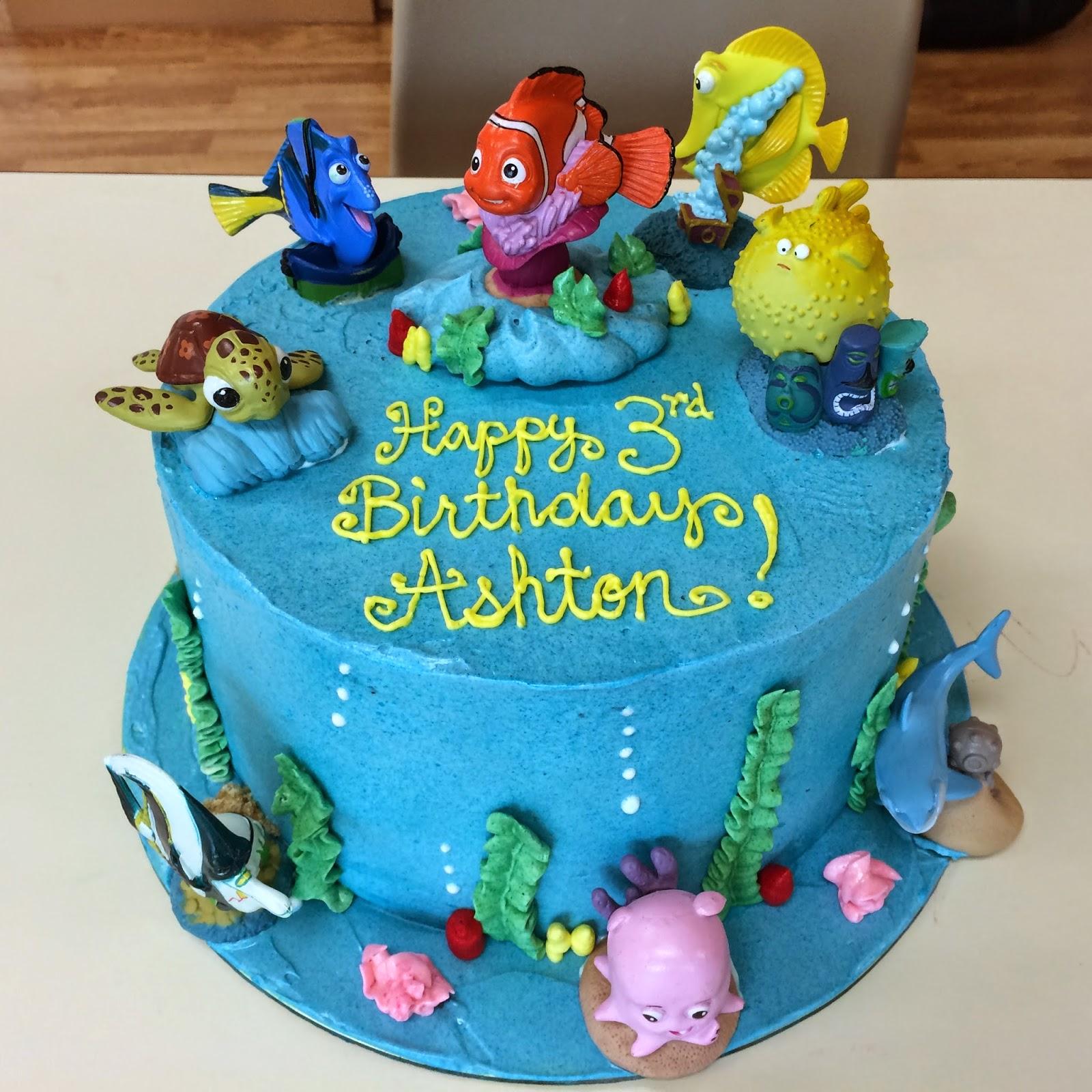 Finding Nemo Cake Crissas Cake Corner