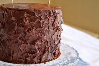 Receta de tarta de chocolate_receta de cobertura de chocolate y maracuya_receta ganache de chocolate y maracuya