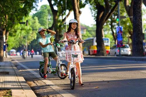 Quãng đường tới 90km/lần sạc của xe đạp điện HKbike chưa một hãng nào khác đạt được.