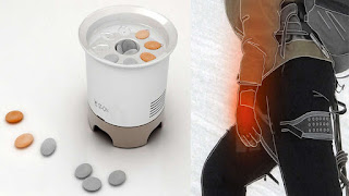 ST-ON portable heater concept