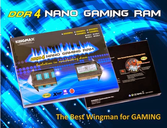 KINGMAX DDR4 OC RAM