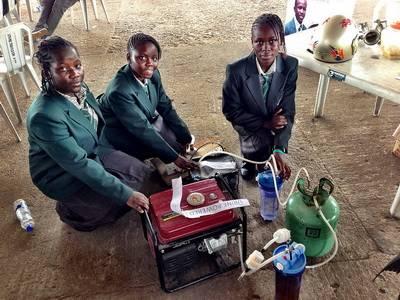 pelajar afrika