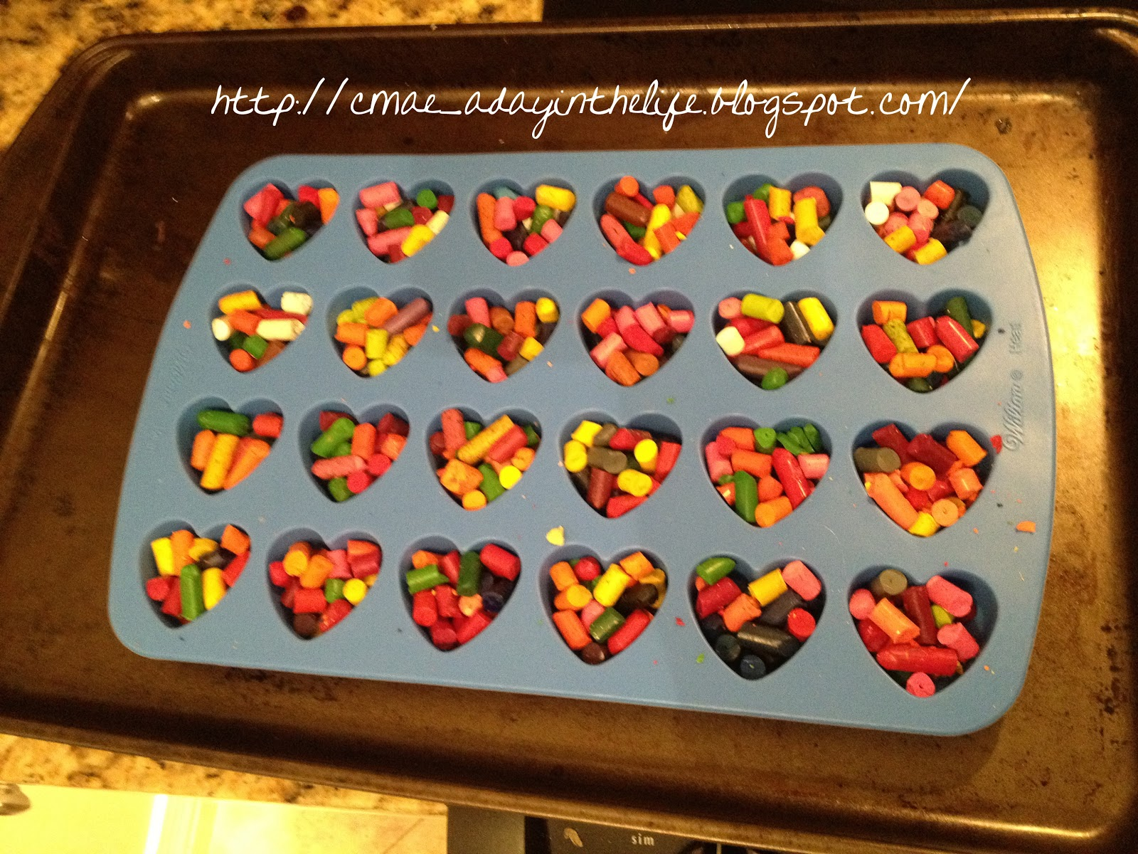 A Little Lovely Diy Valentine Gift Crayons