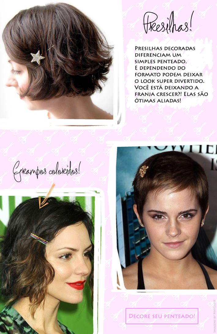 Blog de acessórios, blog da Jana, Joinville, Acessório para cabelo curto