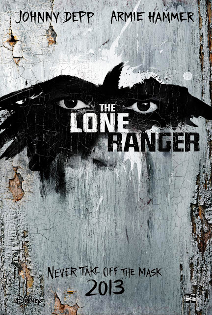 The Lone Ranger 2013 Movie Poster