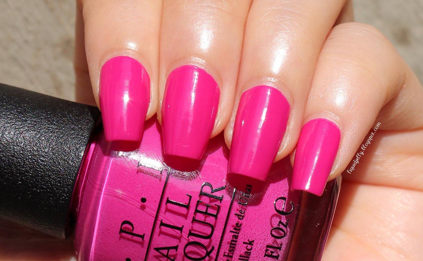 Milani Hot Pink Rage Nail Polish to Milani Hot Pink Rage
