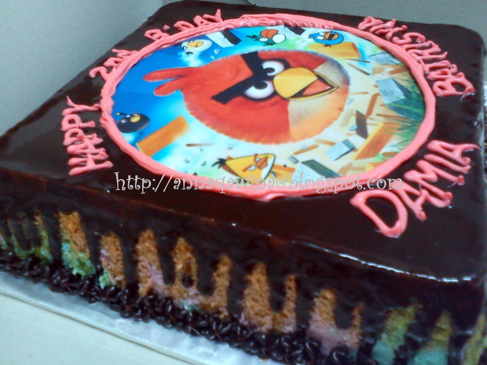 Tempahan dari Encik Fazly Ampang, kek karamel besday edible image ...