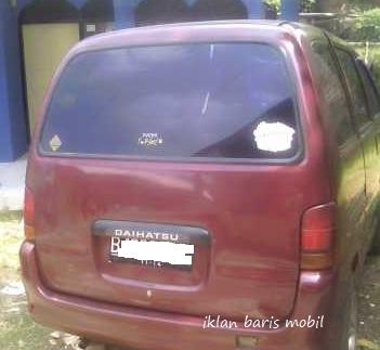 Dijual - Daihatsu espass merah tahun 1995, iklan baris mobil