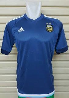 Gambar jersey Argentina away terbaru musim 2015/2016 enkosa spofrt harga murah
