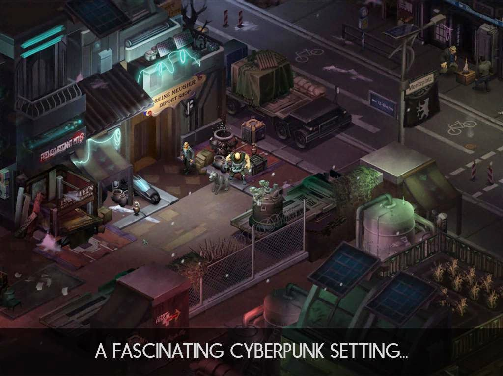 Shadowrun: Dragonfall - DC Apk Data Android