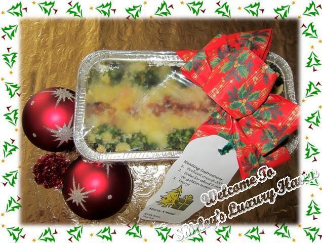 how to make christmas baked rice