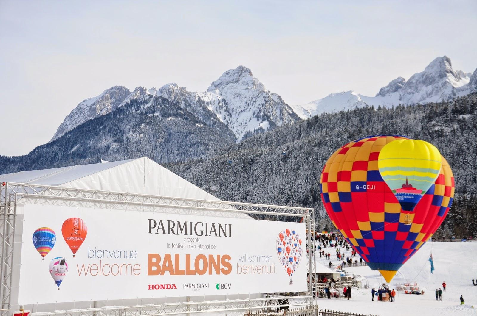 château d'oex festival ballons