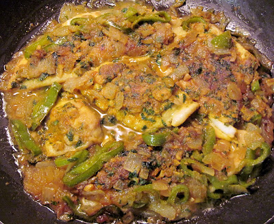 Cooking Indian Minted Fish Machhi Ka Salan