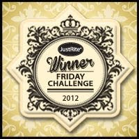 JustRite Stampers Winner