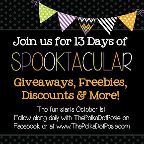 Follow along for all the fun! October 1-13
