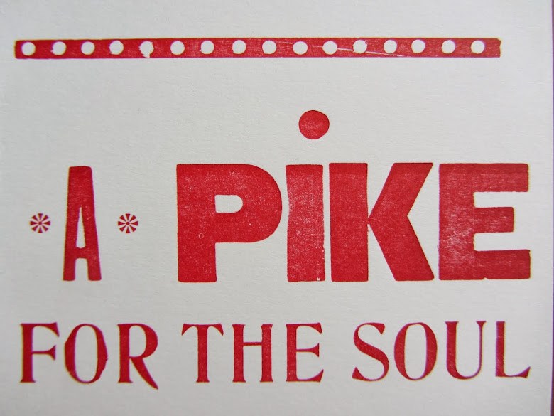 A Pike for the Soul letterpress Christmas Cards Available Here: