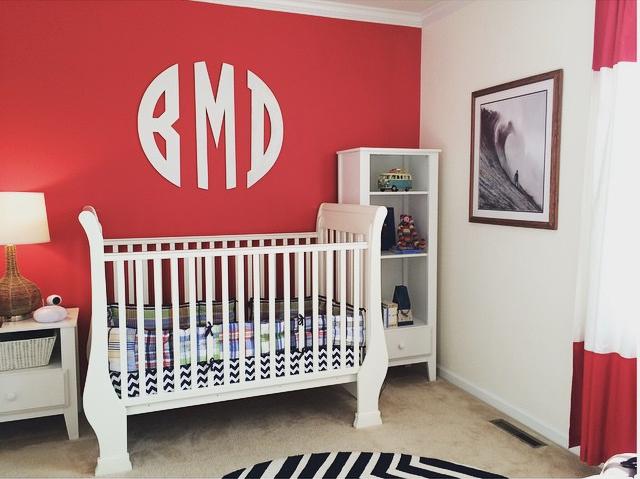 18 Creative Real Life Nurseries - @jillmyersinteriors