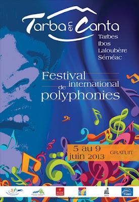 Tarba en Canta 2013  Festival de polyphonies