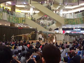 """Dinosaur Impact!ダイナソーインパクト  レイクタウン moriに恐竜あらわる!  """"ENCOUNTERING DINOSAURS""""PROJECT DINO-A-LIVE(動く恐竜ショー)"""