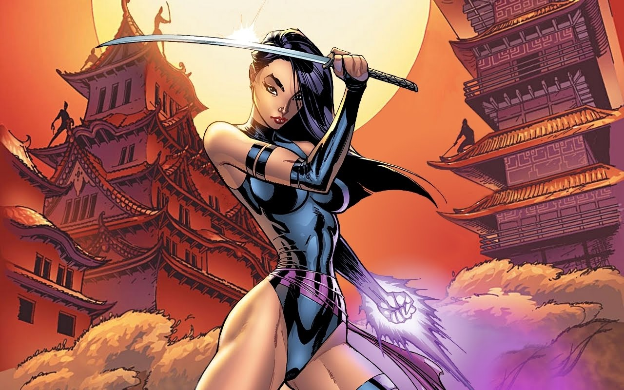 Darcy Cruz Psylocke Wallpaper