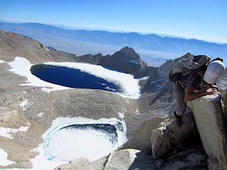 Tulainyo Lake as seen from the East Ridge.