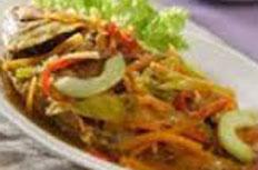 Resep praktis (mudah) ikan nila acar kuning spesial (istimewa) enak, lezat