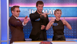 Tony Stark a.k.a. the Iron Man, Thor and the Black Widow.