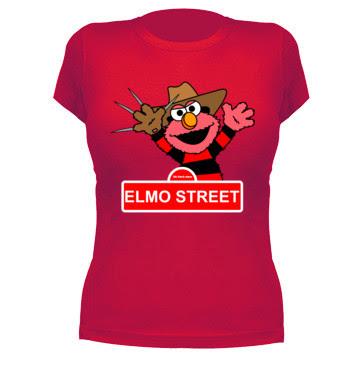Camiseta Friki Elmo Street