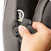 evenflo platinum car seat pockets