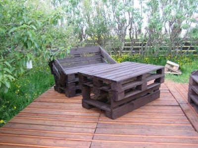 hacer tarima con palets de madera
