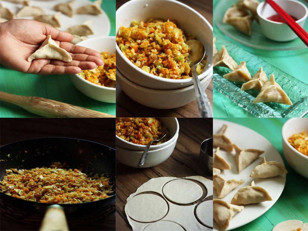 Tibetian Vegetable Momo Recipe | Step by Step Recipe for Veg Momos ...