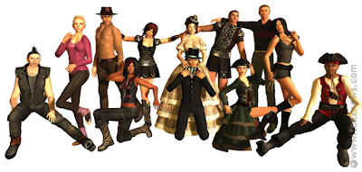 classic avatars second life