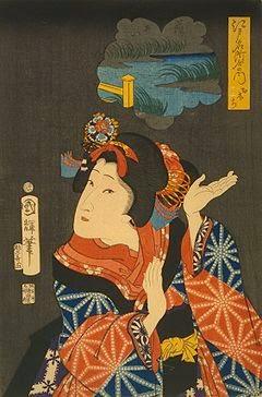 asa-no-ha, asanoha, asanoha kabuki, kabuki costume, Yaoya Oshichi