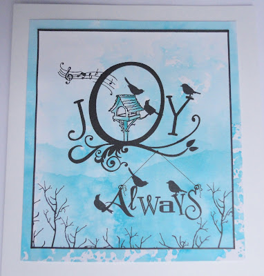 Joy Always card by Barbara Gray
