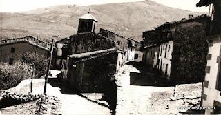Candelario Salamanca vista parcial del barrio de la Iglesia