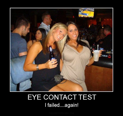 Eye contact memes