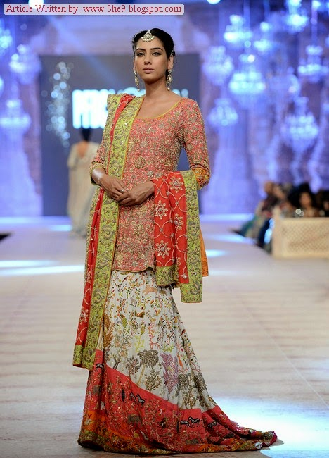 Nida Azwer Bridal Dress Collection