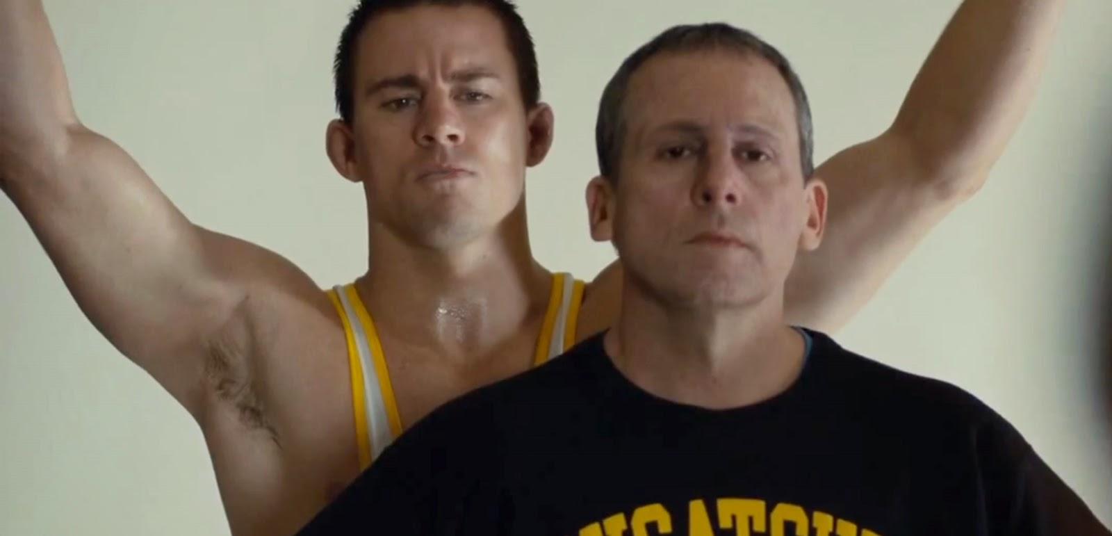 Channing Tatum, Steve Carell e Mark Ruffalo em novo trailer do drama Foxcatcher, de Bennett Miller