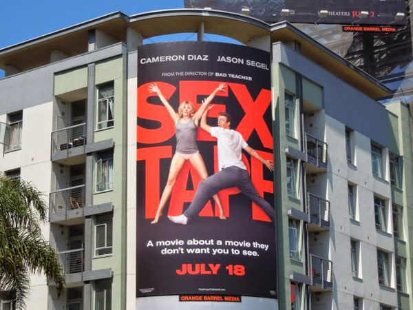 Sex Tape movie billboard