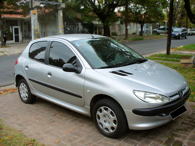autos puntocom peugeot 206 x line 5 puertas a o 2006 vendido. Black Bedroom Furniture Sets. Home Design Ideas