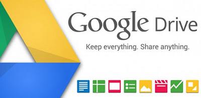 cara mengupload file java Script, css dan html di Google Drive