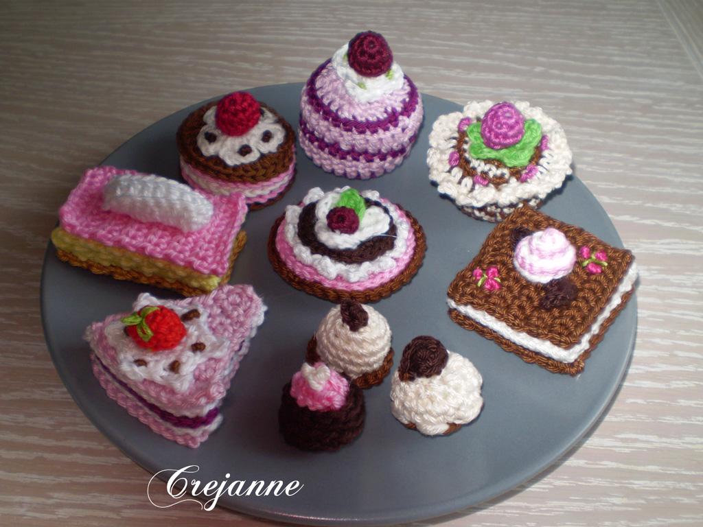 Crejanne Gehaakte Taartjes En Bonbons
