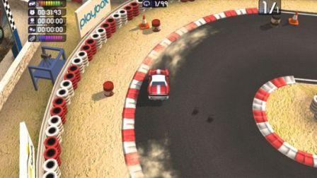 Screen Shot Of Bang Bang Racing (2012) Full PC Game Free Download At Downloadingzoo.Com