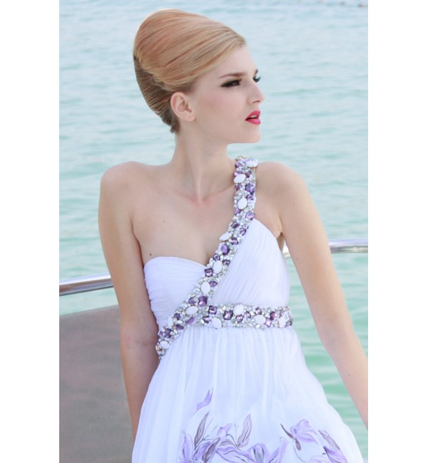 Here Are A Few More Alternative Wedding Dresses In Purple And White