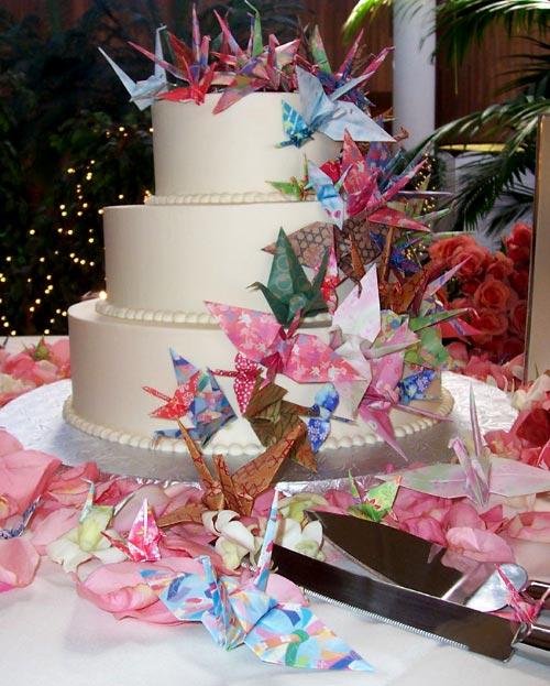 Japanese wedding cakes 1