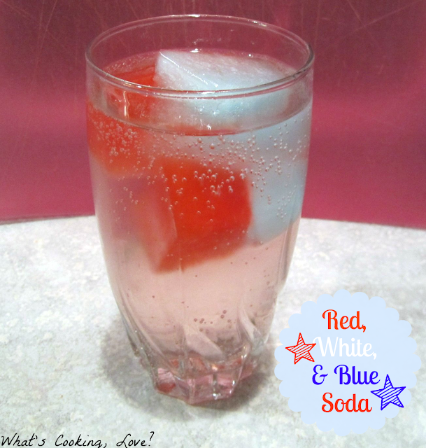 Red+White+and+Blue+Soda 4th of July Fun by You!