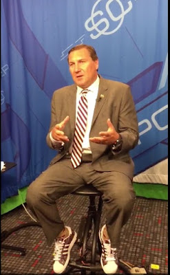 Dan Mullen brings SEC shoe wars to ESPN.