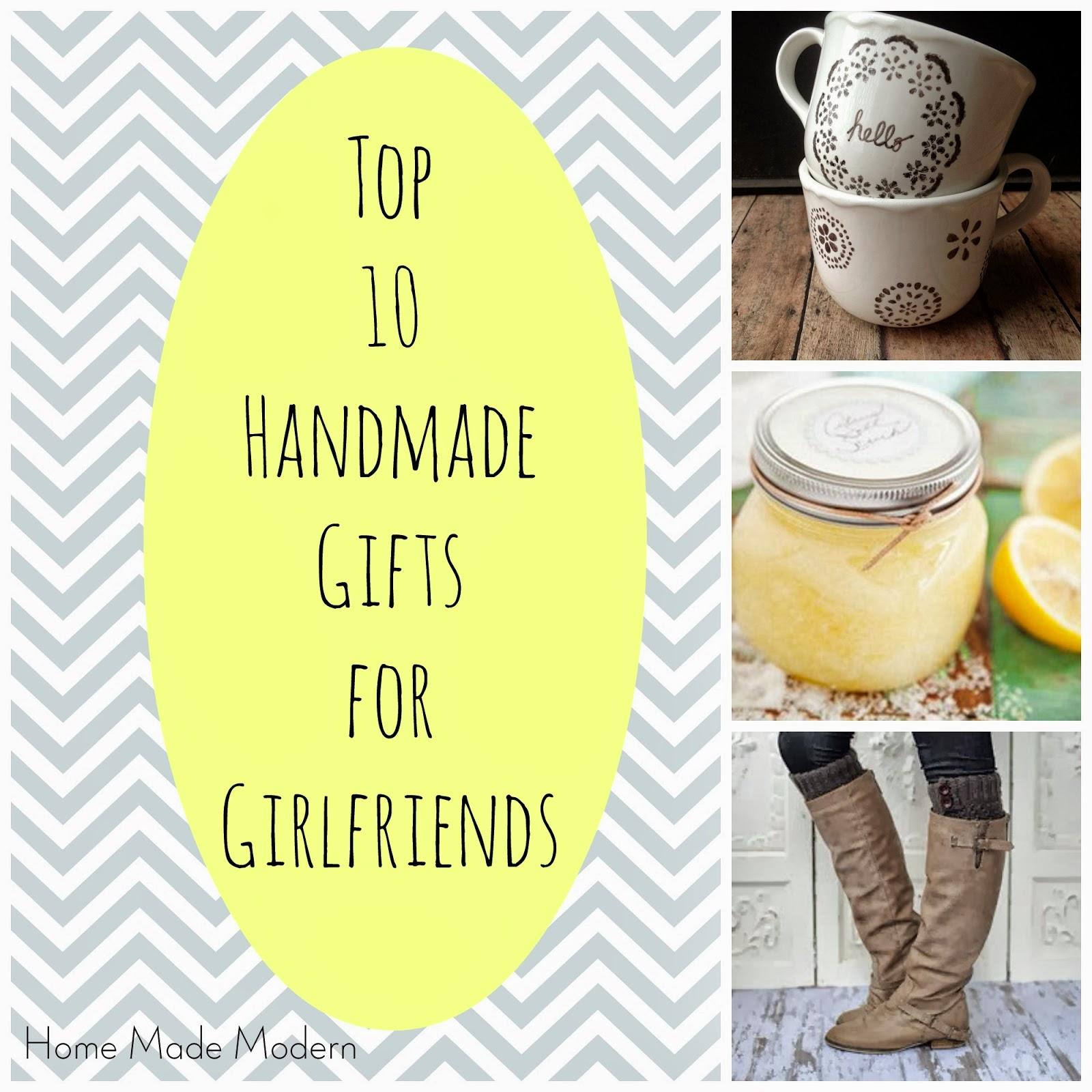 Home Made Modern: Craft of the Week: Top 10 Handmade Gifts ...