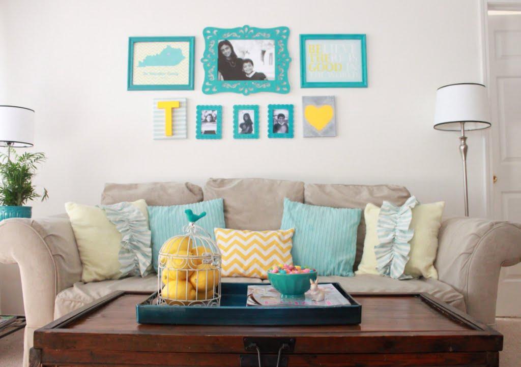 Sala De Estar En Azul ~  lindas e inspiradoras Que vontade de mudar tudo lá em casa JÁ kkkk